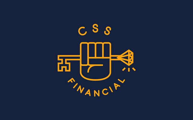 CSS Financial | Branding and Logo Design by London based freelance graphic designer Steve Reynolds